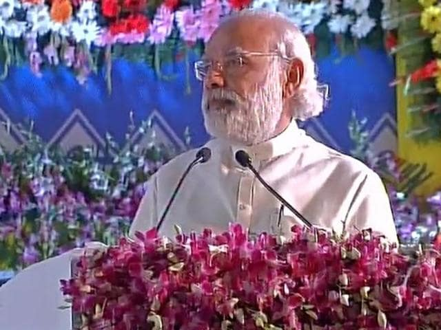 Prime Minister Narendra Modi spoke at the International Convention on Universal Message of Simhasthon.