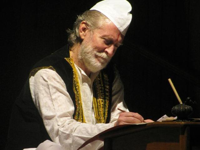 The play Ghalib Ke Khat is based on the letters written by the late poet.