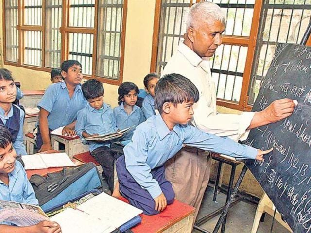 The teachers recruited under the Sarv Shiksha Abhiyan (SSA) have been awaiting salaries for the past four months.
