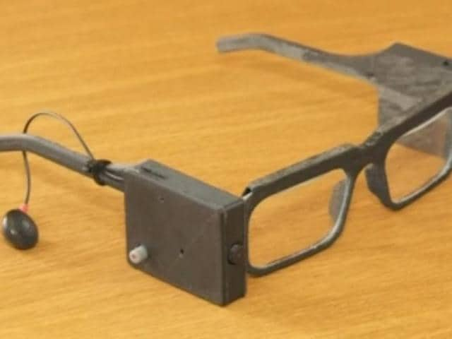 Parsee has developed a prototype of the battery-powered glasses which have a 3D printed frame, internet protocol camera and earphone.