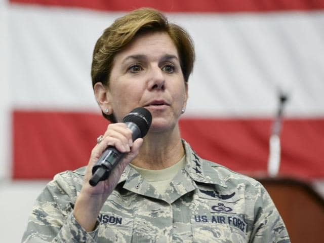 US armed forces,Women in combat roles,General Lori Robinson