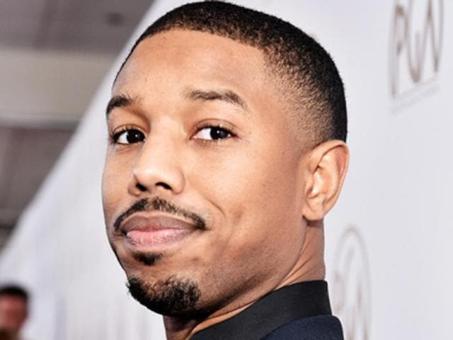Michael B Jordan joins Chadwick Boseman and Lupita Nyong'o on the cast of Marvel's Black Panther.