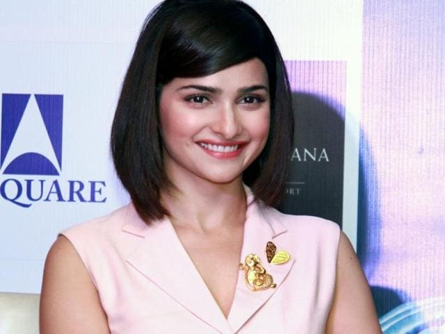 Prachi Desai during a press conference to promote her film Azhar in New Delhi, on Tuesday.