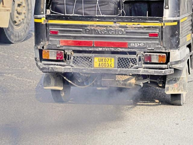 Once considered a green city, Doon's inclusion in the list of the most polluted cities in the world.