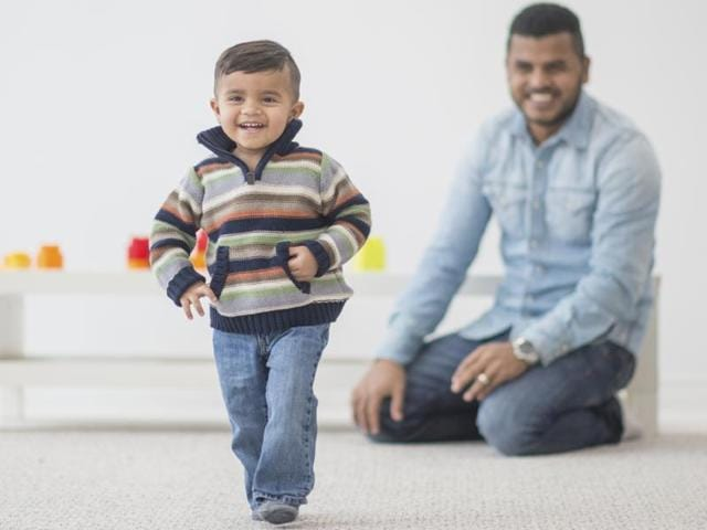 Experts say that movements in active toddlers place a stress on the bones, causing them to react by becoming wider and thicker, thereby making them stronger than those in children who may not be moving as much.