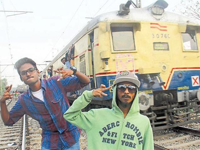 (From left) Prabh Deep Sagar raps in Punjabi, Cizzy in Bengali and Divine in Hinglish.