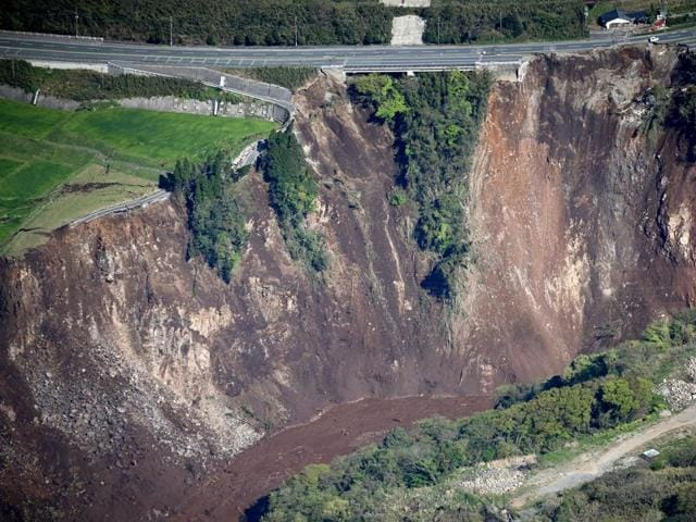(Representative image) The GSI said more than 12 % of the country's total land area or 0.42 million square kilometres is vulnerable to landslides.