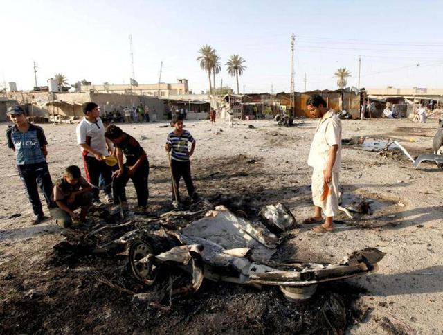 Militants attacked a state-run natural gas plant outside the Iraqi capital, killing at least 11 people, officials said.