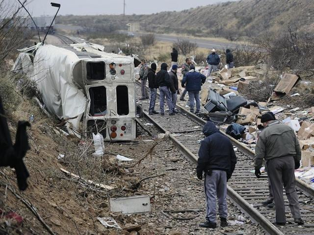 (Representative image)A charter bus headed to a casino crashed in far south Texas on Saturday, killing eight people and injuring 44 others.