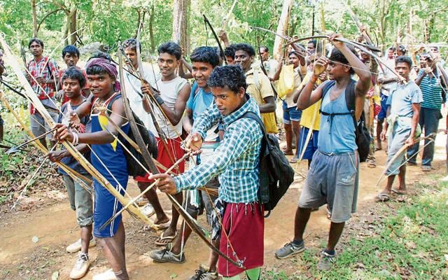 Tribals will embark upon their annual hunting ritual 'Sendra' inside Dalma on Monday.