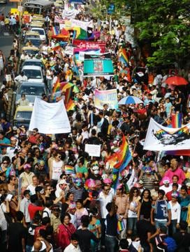 Queer azaadi march in Mumbai