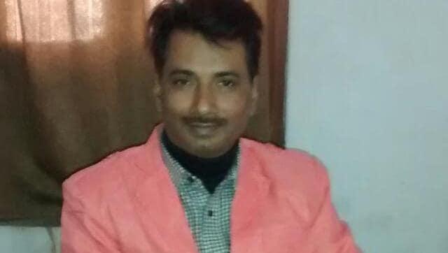The spot where Hindustan journalist Rajdeo Ranjan was shot dead in Siwan, Bihar.