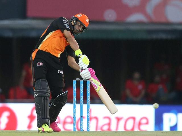 Yuvraj Singh played a crucial role in Sunrisers Hyderabad's seven-wicket win over Kings XI in Mohali on Sunday.