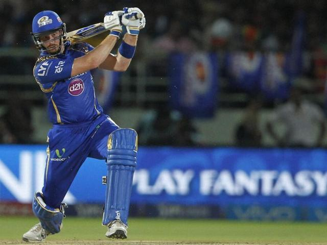 Opening with Rohit Sharma, Martin Guptill helped Mumbai Indians get off to a solid start in Visakhapatnam.
