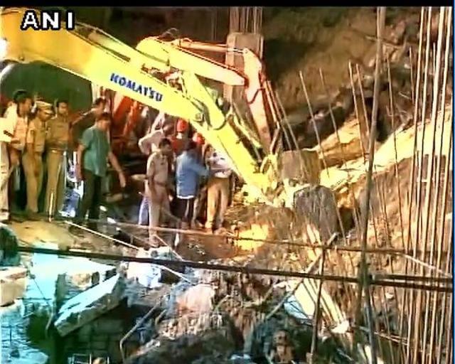 Guntur,Wall collapse in Guntur,Andhra Pradesh