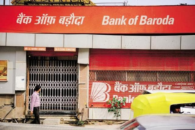 Bank of Baroda posted a net loss of Rs 3,230 crore during the January-March quarter of 2015-16