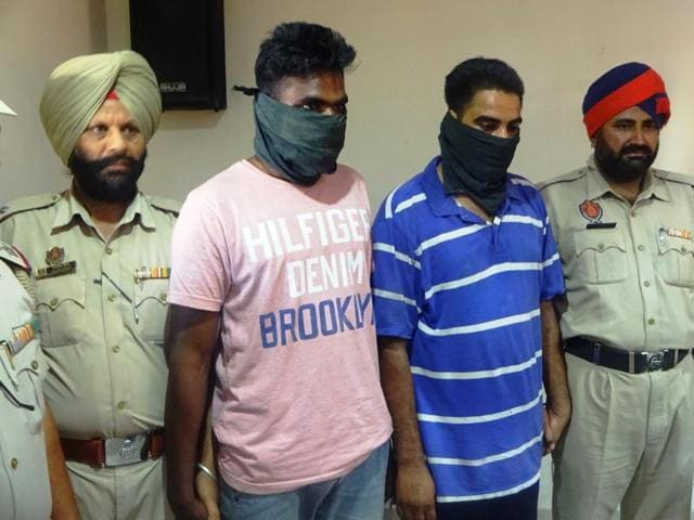 Gurdev Singh of Jhabal village in Tarn Taran district and Sally Kumar of Gurdaspur are the men under arrest on the charge of stealing the Pathankot taxi, while their alleged accomplice Jaskaran Singh of Gurdaspur is on the run.