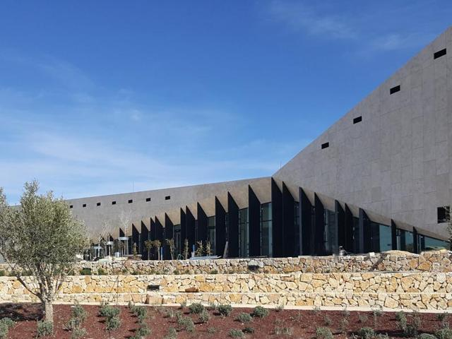 The Palestinian Museum, located in Birzeit in the West Bank, opens May 18.