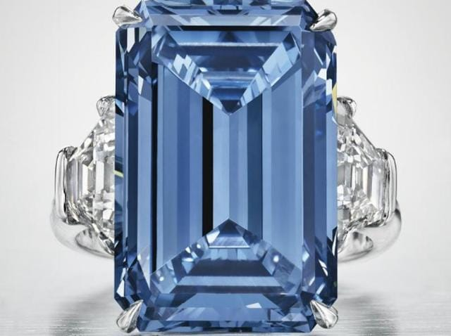 The Oppenheimer Blue could fetch a record price in this week's Magnificent Jewels auctions in Geneva