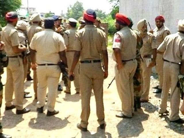 Around 10.15pm on Saturday, three men took away a Swift D'Zire taxi at gunpoint close to Aujala village on the Babri bypass near Gurdaspur.