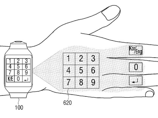 According to a patent filing, the Korean company is believed to be working on a new display technology that will allow you to project your watch's display on any nearby surface