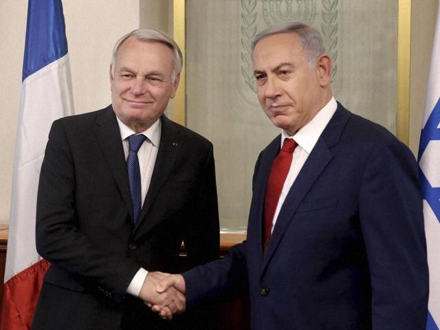 Paris peace summit,Israel-Palestine conflict,Benjamin Netanyahu
