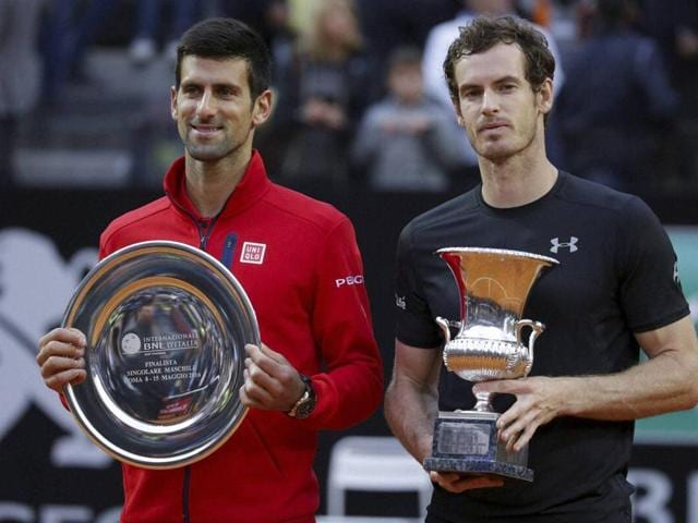 andy Murray,Novak Djokovic,French Open