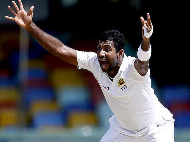 Prasad played a key role in Sri Lanka's first Test series win in England, in 2014.