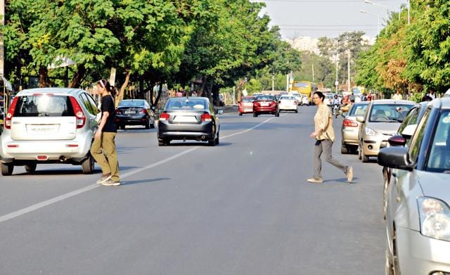 Residents have complained that the stretch towards the Golf Course Road has become accident-prone.