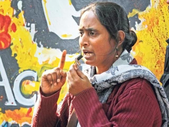 File photo of CPI(ML)Polit Boreau member Kavita Krishnan.
