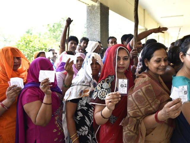 Polling began on Monday for the twin seats of Jharkhand's Godda and Panki. Voting began at 7.00 a.m. and will end at 3.00 p.m.