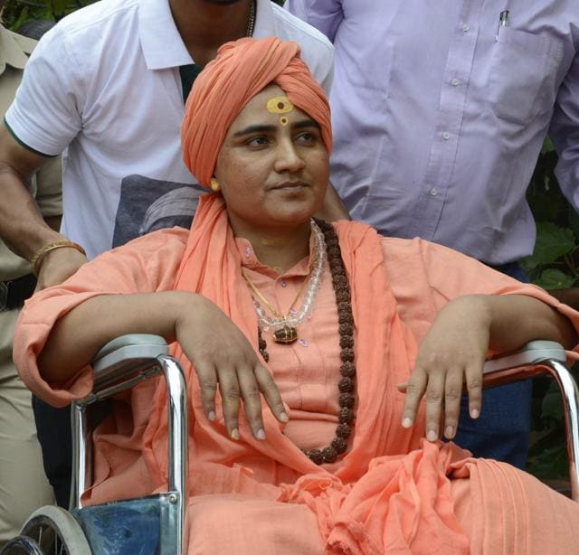 A court in Dewas on May 5 had allowed Pragya to perform the Kumbh pilgrimage to Ujjain, but police have prevented her visit citing security issues.