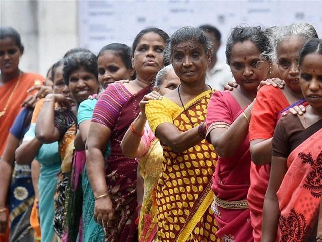Image result for Tamilnadu records highest voter turnouts among 11 states