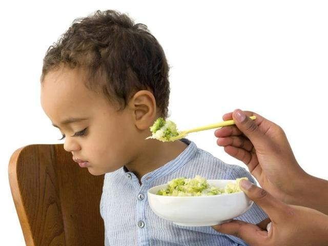 A study in the UK has shown that almost one in five two-year-olds has never tried a vegetable.