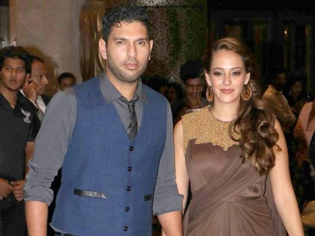 Yuvraj Singh,Hazel Keech,Engagement