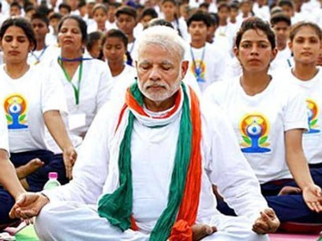 Yoga Day,Modi,Prime Minister
