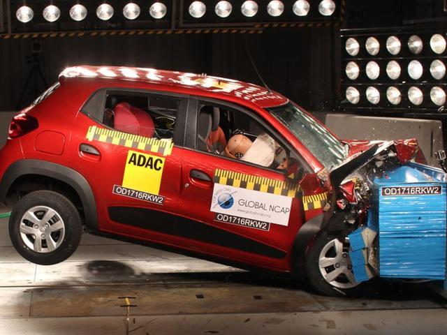 Indian cars fail crash test