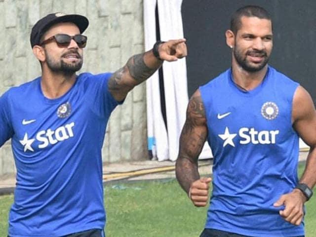 Virat Kohli,India vs Zimbabwe,Shikhar Dhawan