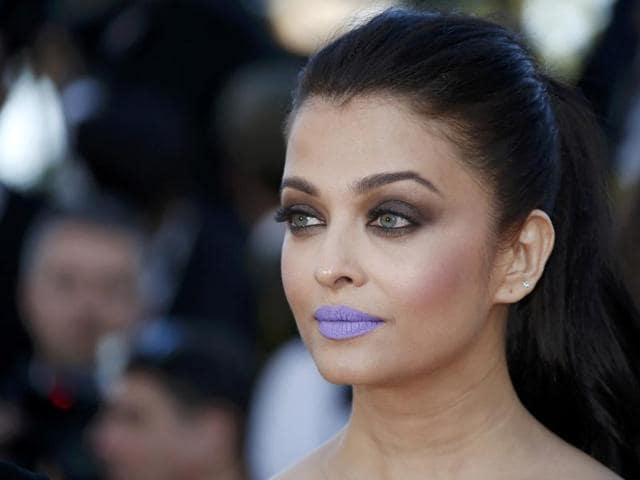 Actor Aishwarya Rai Bachchan's lipstick sent the internet in a tizzy.