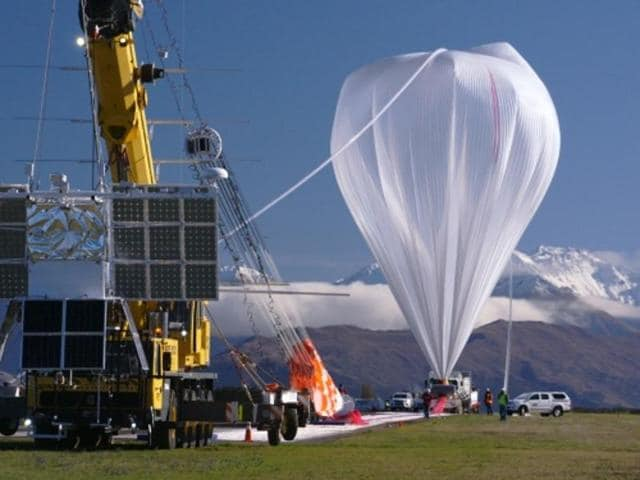 Nasa launched a super pressure balloon from New Zealand's Wanaka Airport on Tuesday.