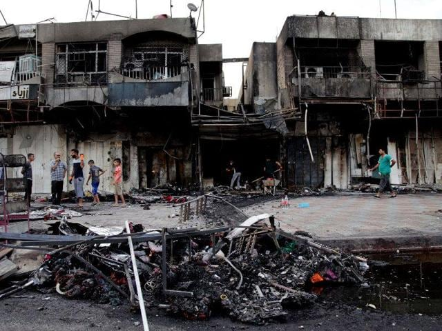 A powerful Improvised Explosive Device exploded early on Tuesday morning at a popular spot here, a police officer said.