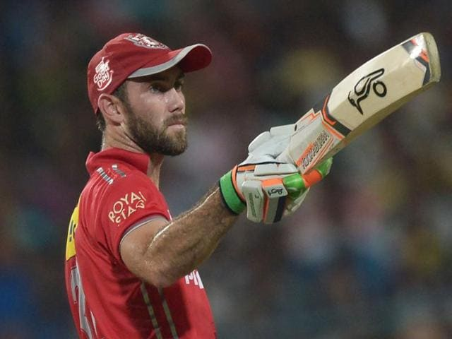 Maxwell suffered a strain in his left abdomen playing for Kings XI Punjab and is returning home as a precaution.
