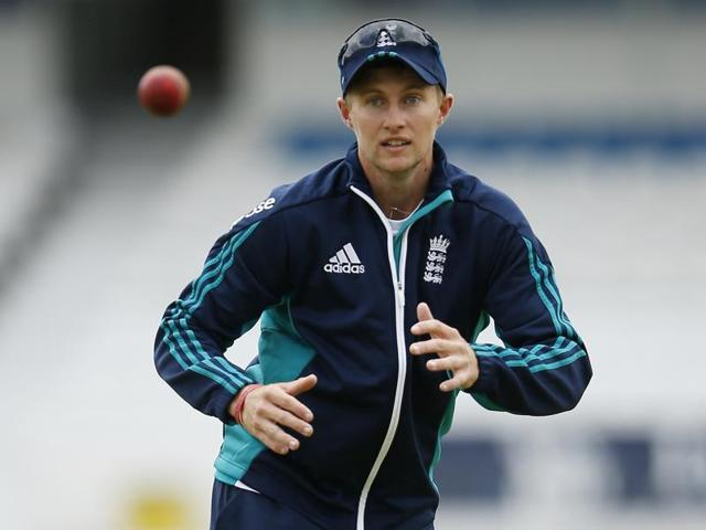 England cricketer Joe Root during net sessions.