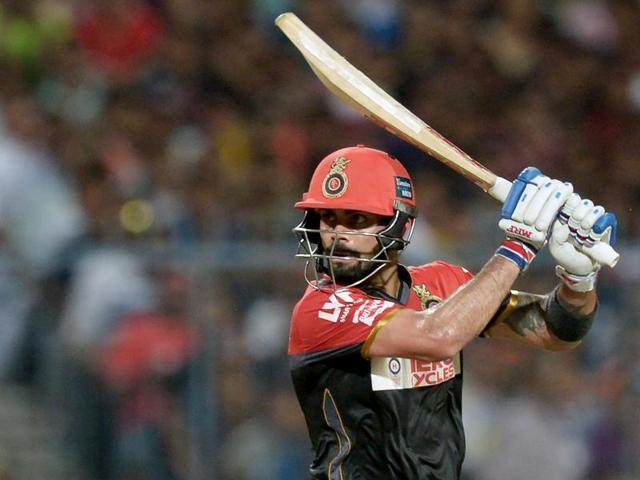 Despite splitting the webbing on his left hand,  Virat Kohli hit a match-winning 75 to keep Royal Challengers Bangalore's playoff hopes alive.