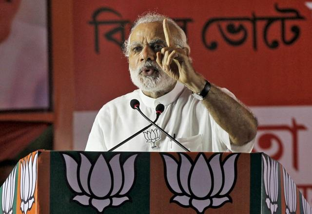A man has been arrested by Gangavati town police in Koppal district of north Karnataka for allegedly posting a morphed photo of Prime Minister Narendra Modi on a social media