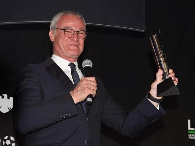 Ranieri became only the second non-British or Irish manager to win the accolade after Frenchman Arsene Wenger won it with Arsenal in 2002 and 2004.
