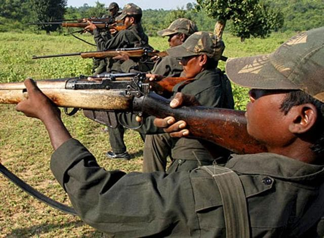 A CRPF jawan was killed when Maoists attacked a force camp in Bijapur district of Chhattisgarh early on Tuesday.