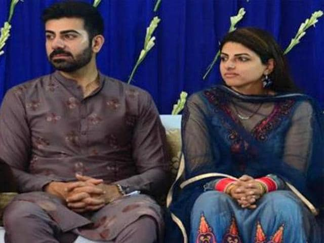 File photo of Sudeeksha with her husband Avneet Satya, who also died in the accident.