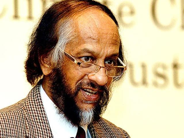 RK Pachauri resigned as the chairperson of Intergovernmental Panel on Climate Change (IPCC) following accusation of sexual harassment. (HT file photo)