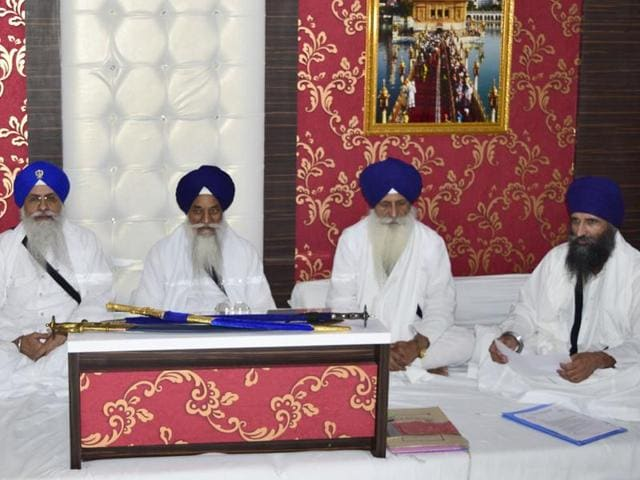 There will be no extension in the date of appearance, said Sikh priests at a meeting at the Akal Takht secretariat on Monday.